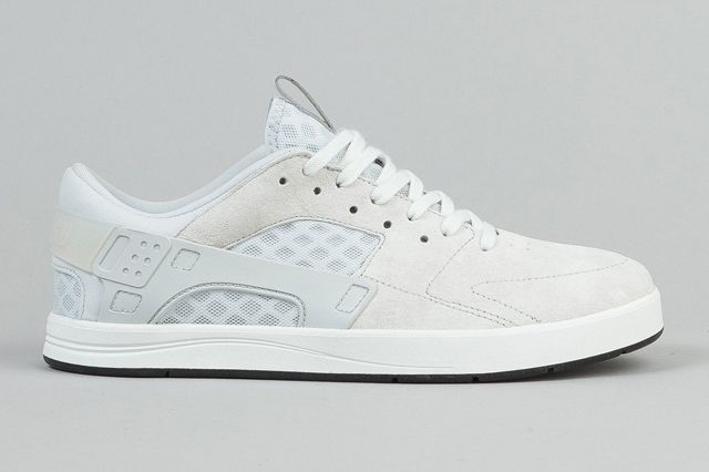 Nike Sb Eric Koston Huarache Shoes Summit White Pure Platinum Black 2