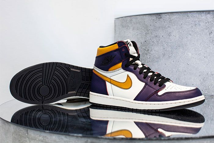 Nike Sb Air Jordan 1 Lakers Right