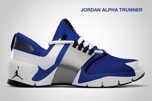 Jordan Alpha Trunner Blue 1
