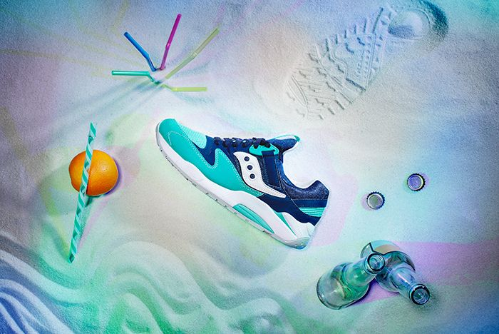 Saucony Spring Break Grid 9000 6