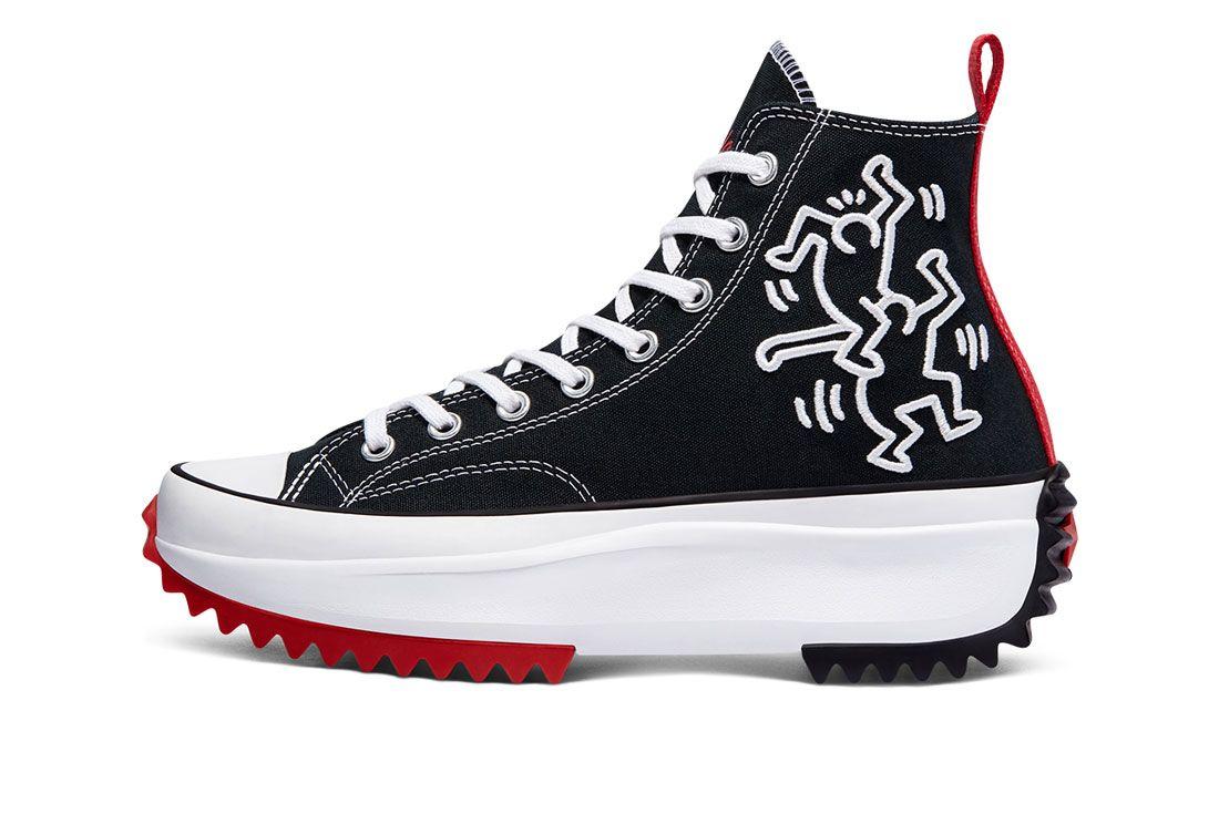 Keith Haring x Converse Run Star Hike