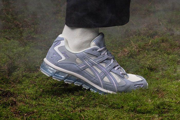 Asics Gel Kayano 5 360 Gore Tex Cool Mist On Foot