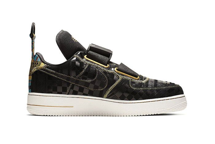 Nike Air Force 1 Utility Bhm Side Shot 2