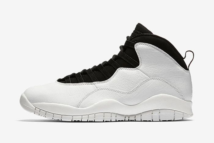 Air Jordan 10 Im Back Summit White Black 1
