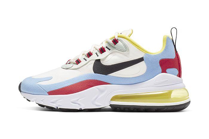 Nike Air Max 270 React Bauhaus Womens Release Date Lateral