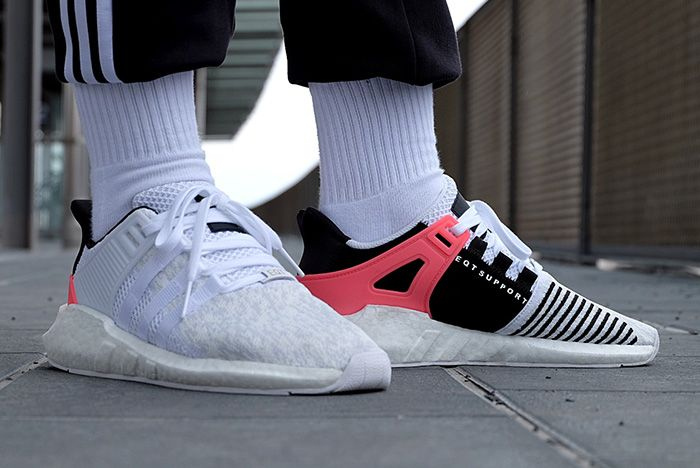 Adidas Eqt Support 9317 White Turbo Red Thumb