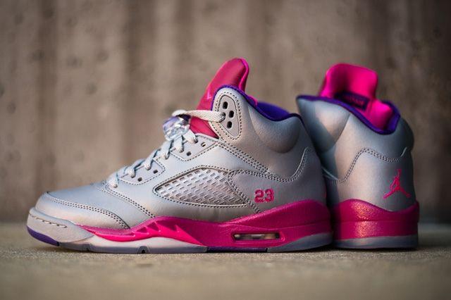 Air Jordan 5 Cement Raspberry 7