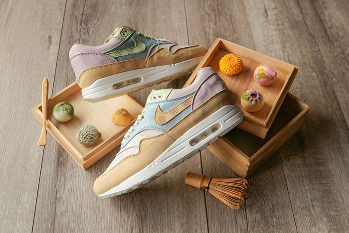 Chase Shiel Ryustyler Nike Air Max 1 Custom Wagashi Food Shot6