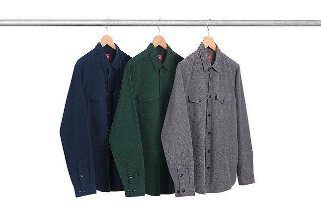 Buffalo Twill Shirts Three Rack 1