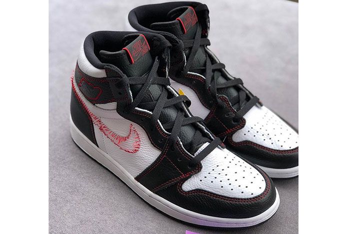 Air Jordan 1 Retro High Og Dynamic Yellow Red Stitch Release Date 3 Side Pair