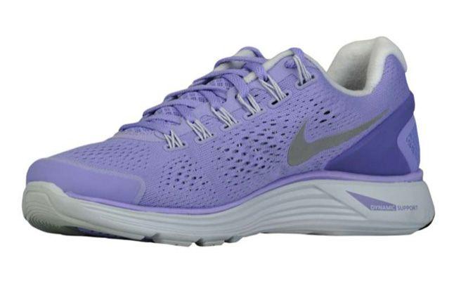 Nike Lunarglide 4 Medium Violet Quater Front 1
