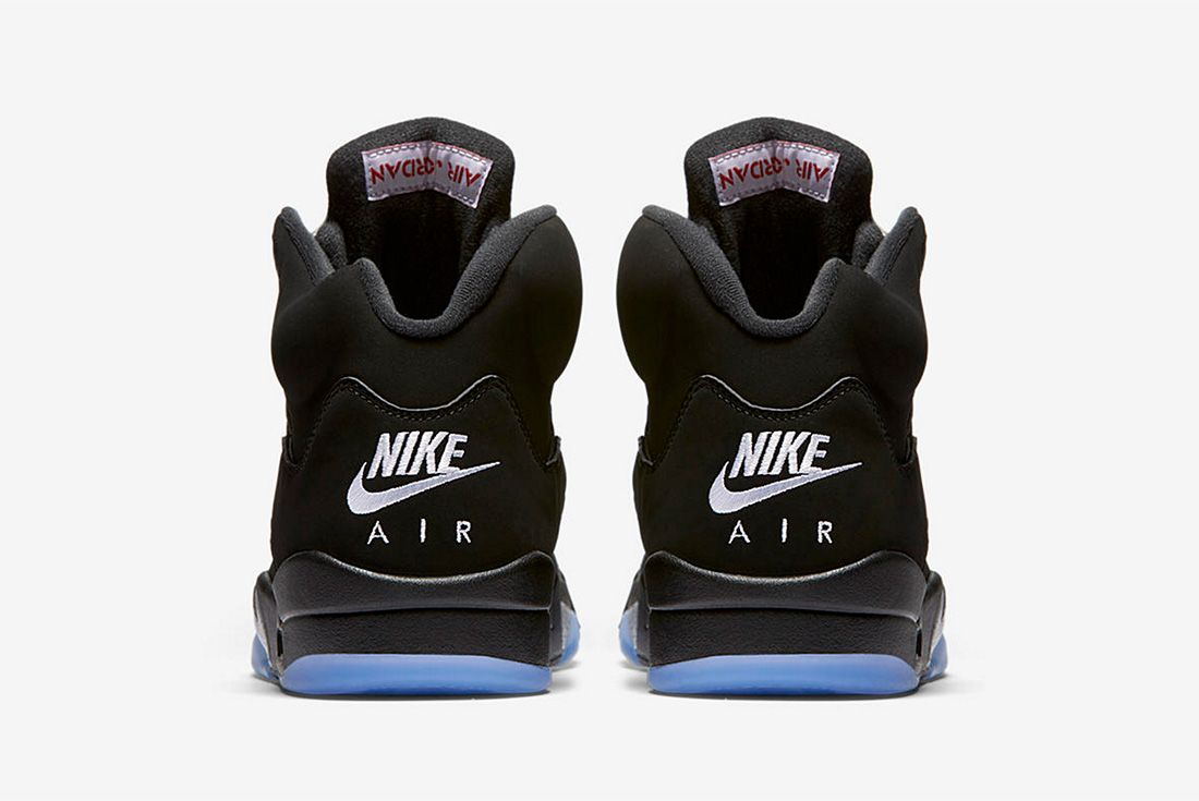 Air Jordan 5 Metallic Silver 2016 Retro