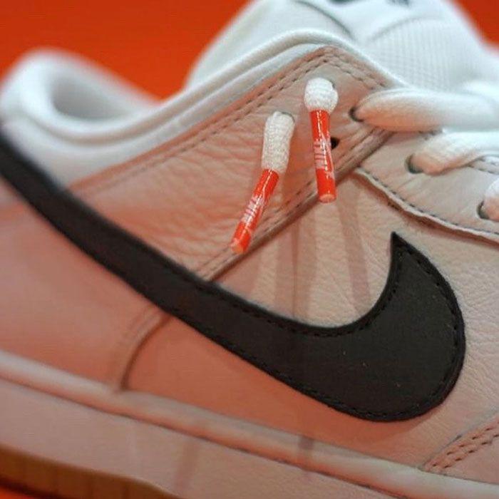 Nike Sb Dunk Low Orange Label White Swoosh