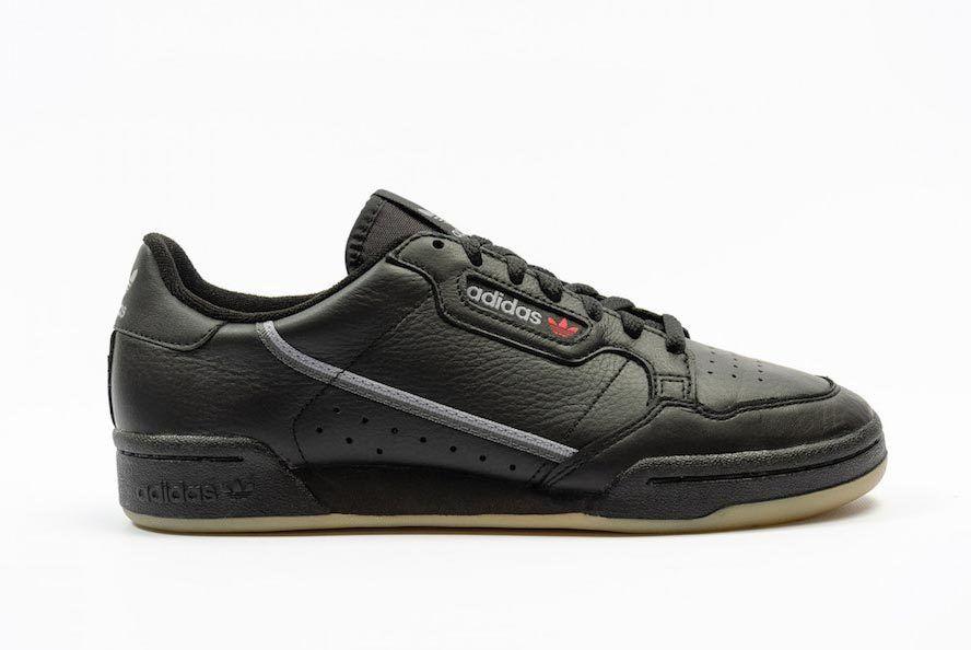 Adidas Continental 80 Black Gum Bd7797
