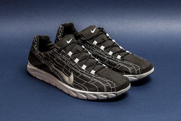 Nike Mayfly Black Pattern 1