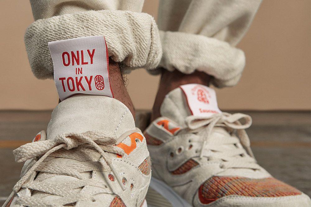 Foot Patrol BEAMS Saucony Grid 8000 Only in Tokyo On Foot