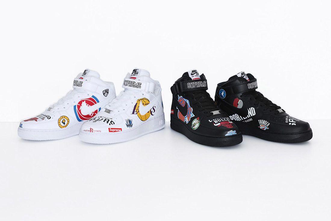 Supreme Nike Nba Air Force 1 High Sneaker Freaker 2