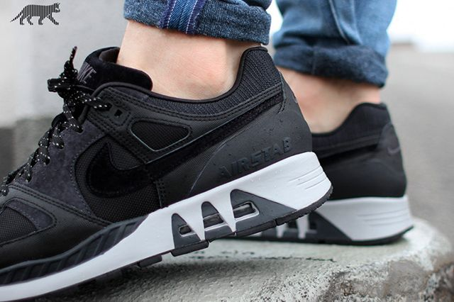 Nike Air Stab Black White 3