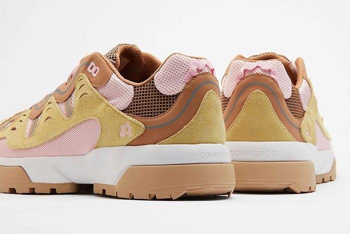 Golf Le Fleur Converse Gianno Pink Rear Detail