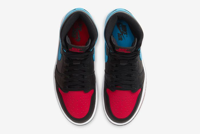 Air Jordan 1 Unc To Chicago Top