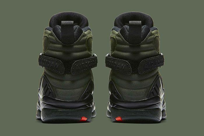 Air Jordan 8 Sequoia Green 1