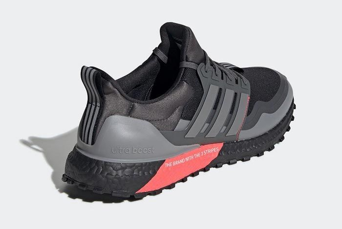 Adidas Ultraboost All Terrain Black Red Grey Back
