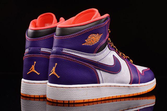 Air Jordan High Bg Court Purple Bright Crimson 3