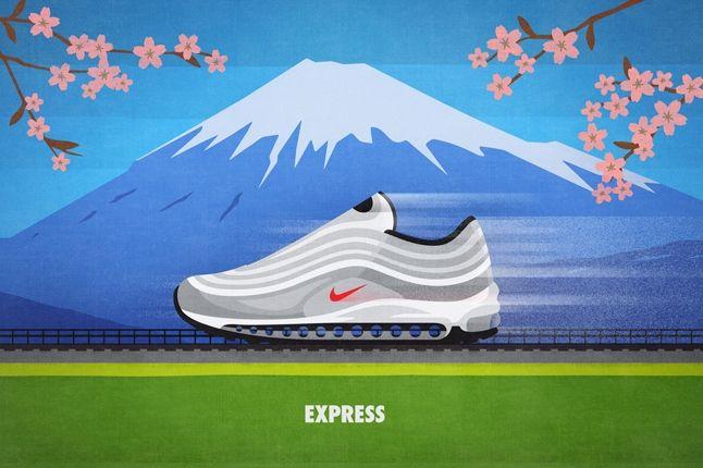 Nike Matt Stevens Airmax 97 Express 1