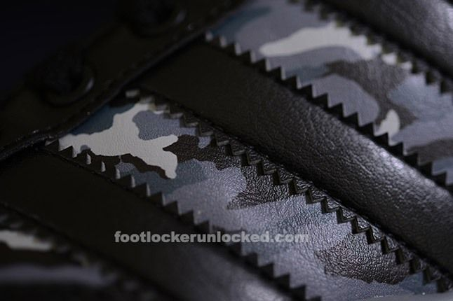 Adidas Top Court Camo Black Texture 1