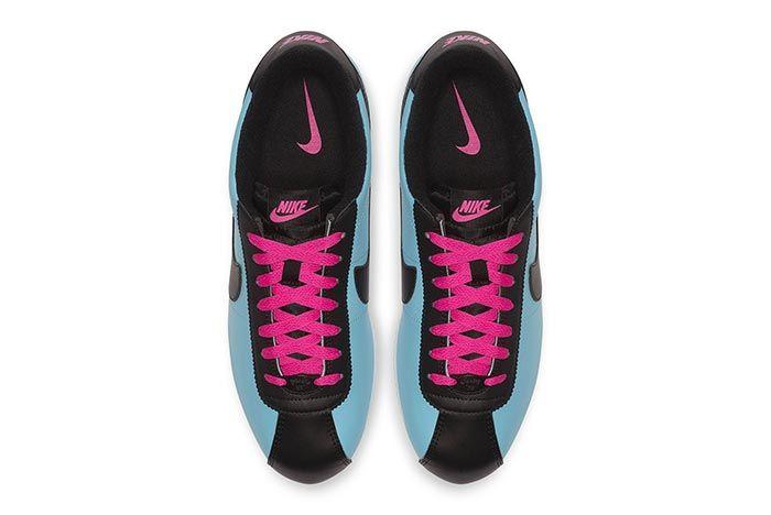 Nike Cortez Blue Gale Laser Fuchsia 4