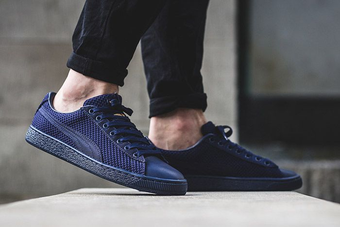 Puma Basket Tech Navy Blue 2