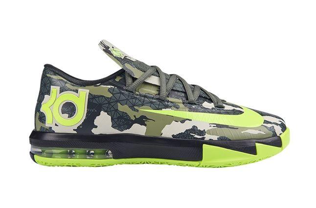 Nike Kd Vi Gs Camo 1