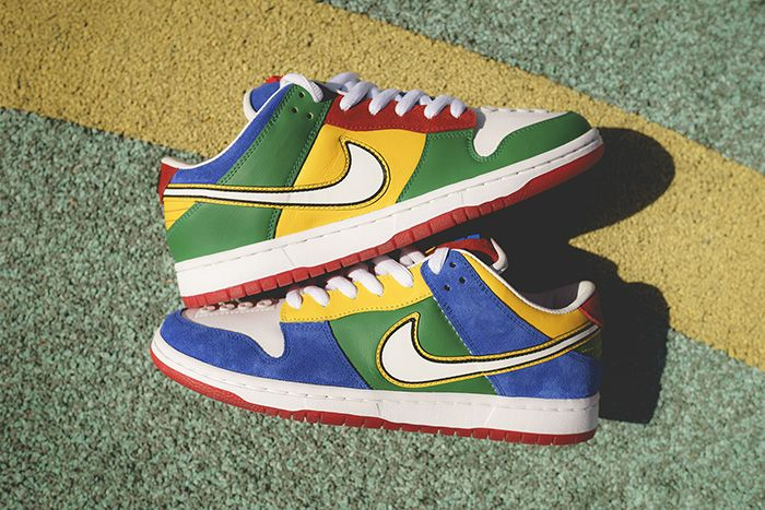 Bespokeind Nike Sb Dunk Low Pro Lego Release Date Pair