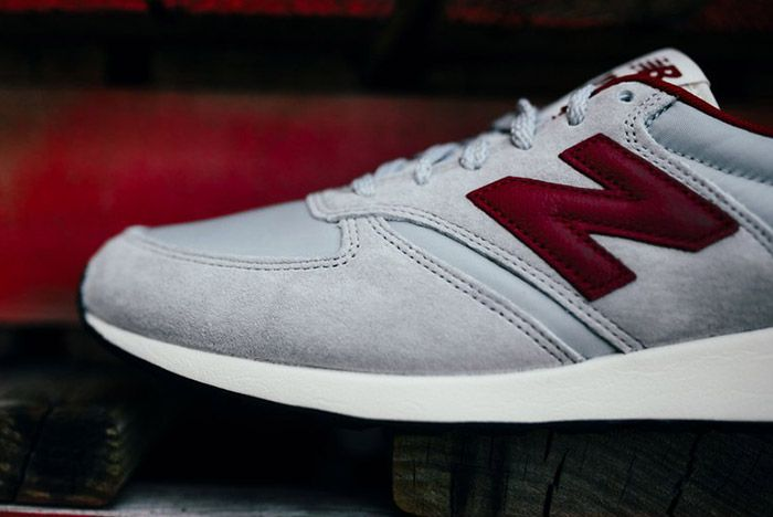 New Balance 420 Revlite Grey Red 6