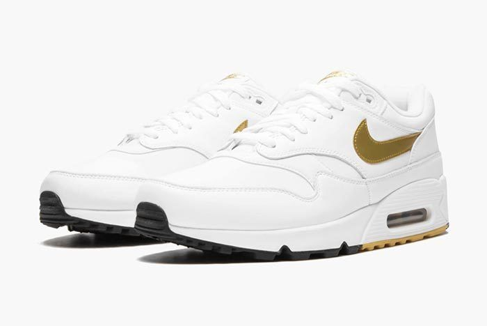 Nike Air Max 90 1 White Gold 2