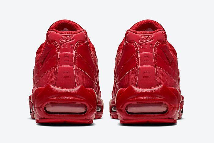 Nike Air Max 95 Varsity Red Cq9969 600 Heel