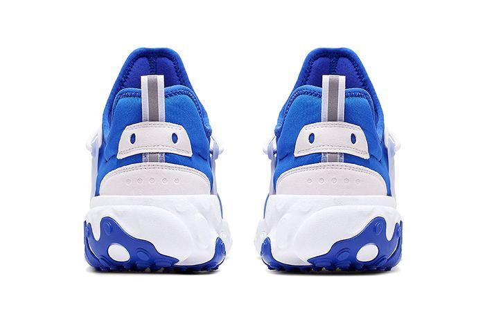 Nike Presto React Hyper Royal Av2605 401 Release Date Heel