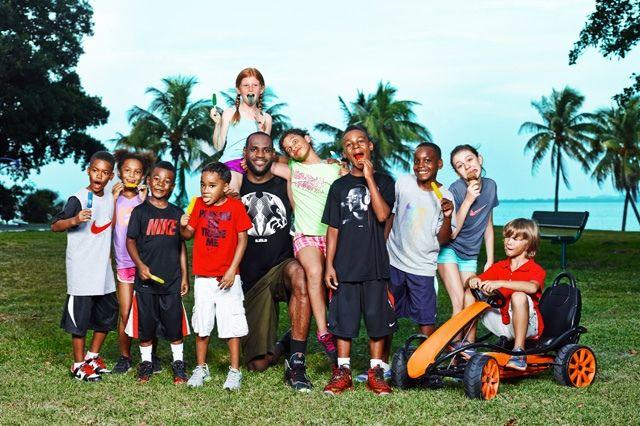 Nike Basketball Lebron James Training Day Campaign 1