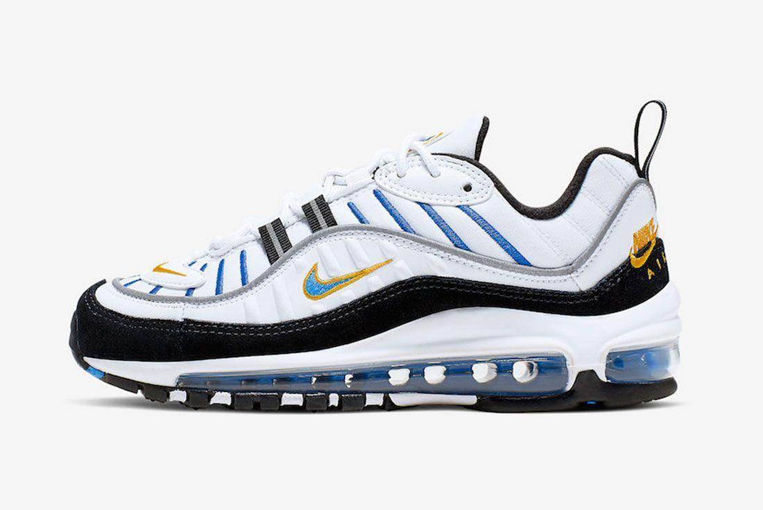 Nike Air Max 98 Gs Cj7393 100 Release Date Side