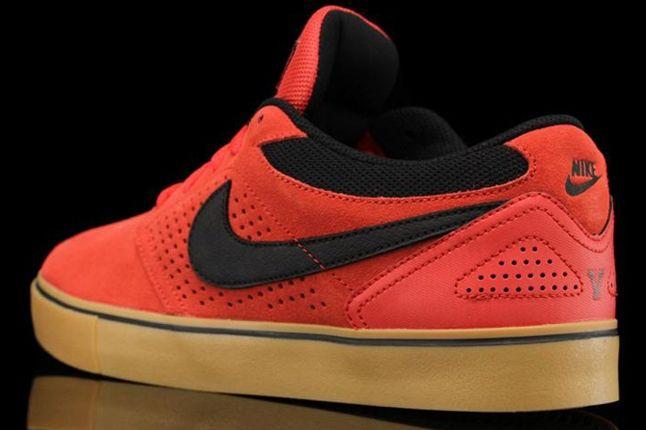 Nike Sb P Rod 5 Lr Hyper Red Heel 1
