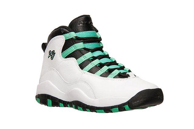 Air Jordan 10 Gg White Verde Black 2