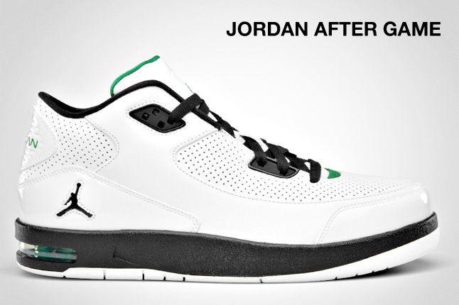 Jordan After Game Green White 1