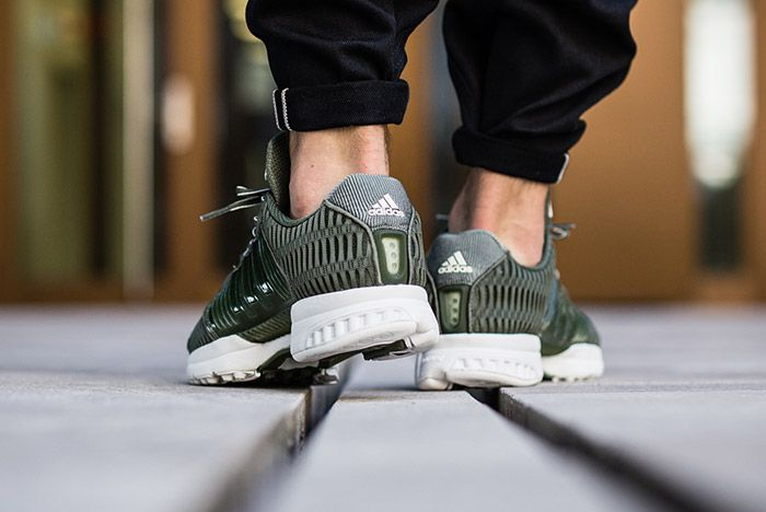 Adidas Clima Cool Base Green On Feet 2