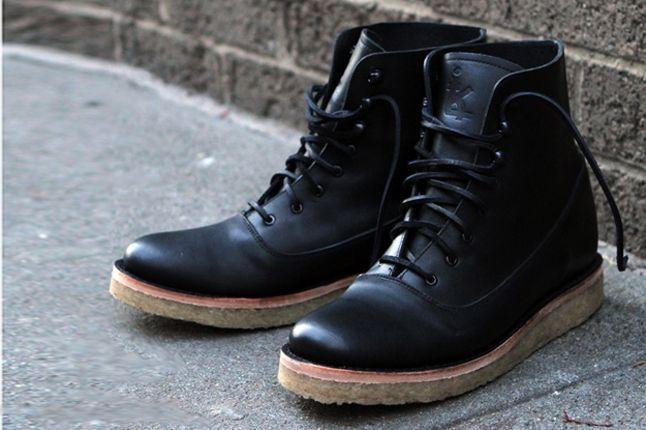 Fieg Caminando Office Boots Black Hero 1