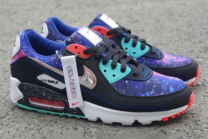 Nike Air Max 90 Galaxy Cw6018 001 Release Date Leak 7