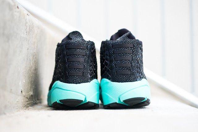Nike Air Footscape Desert Chukka Black Turquoise 2