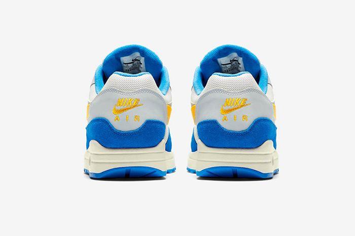 Nike Air Max 1 Amarillo Signal Blue 4