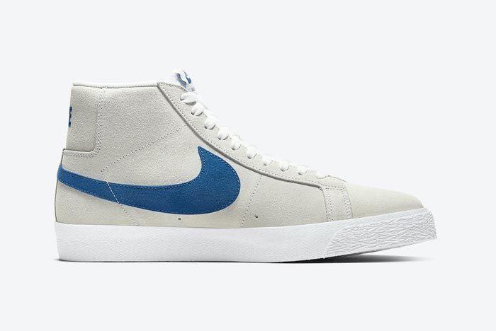 Nike Blazer Mid Lazer Blue Medial