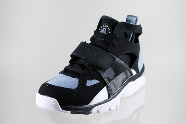 Nike Air Trainer Huarache Blackcool Blue 4