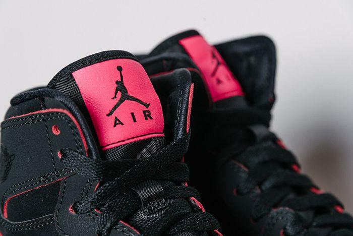 Air Jordan 1 High Gg Black Hyper Pink8